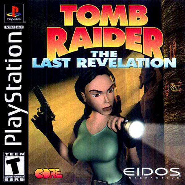 Tomb Raider 4 - The Last Revelation [U] Front Cover